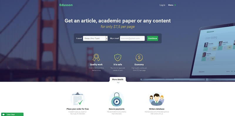 Edusson.com reviews